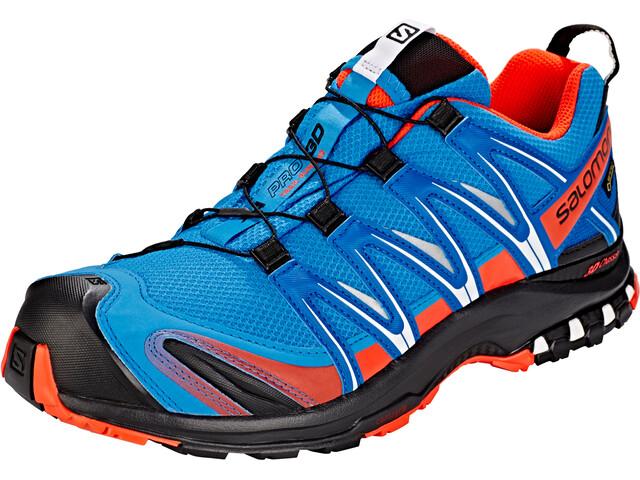 Salomon XA Pro 3D GTX Shoes Herren indigo bunting/sky diver/cherry tomato